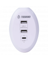 ปลั๊กแปลง TOSHINO 2USB 2.4A + PD Charger TS-3UPD