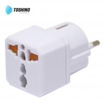 ปลั๊กแปลงขายุโรป รุ่น EA-EU รับไฟ 3500W Toshino