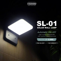 Toshino ไฟติดผนังพลังงานแสงอาทิตย์ รุ่น SL-01